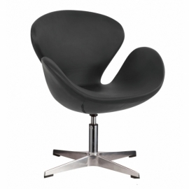 Chaise Swan Chair en Similicuir