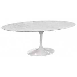 Table Oval Tulip Tables à Manger Furnmod