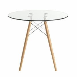 Table James Glass (70 Cm)
