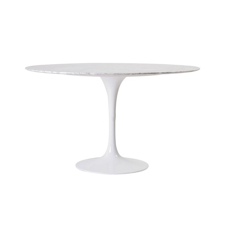 Table Dining Tulip Marbre 120cm