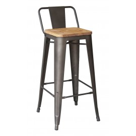 Taburet Bistro LB Wood Antique