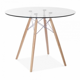 Table James Glass (90 Cm)