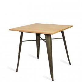 Table Bistro Light Legs Antique