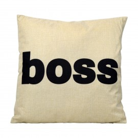 Coussin Boss