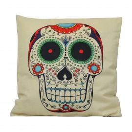 Coussin Skull Multicolor