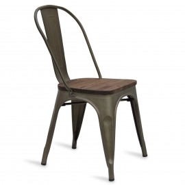 Chaise Bistro Wood Antique