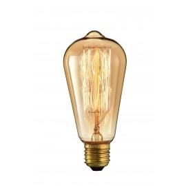 Ampoule Vintage 40W avec support E27 et 220-240V