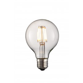 Ampoule Ball LED 4W 4 LED avec support E27 et 220-240V
