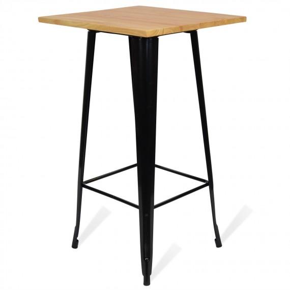 table haute bistro light legs noir
