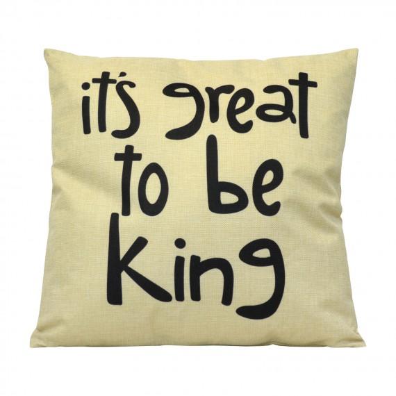Cojín Be King