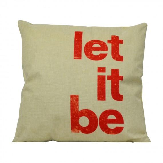 Cojín Let it Be