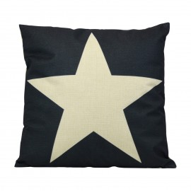 Coussin White Star