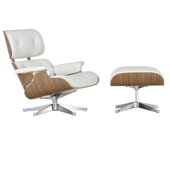 Réplique du fauteuil Eames lounge chair en bois de noyer par Charles & Ray Eames