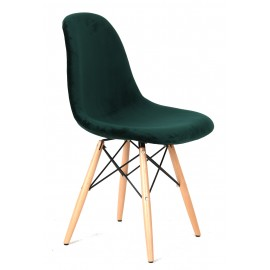 Chaise James Velvet Green