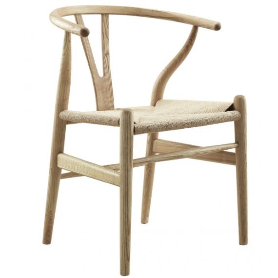 Réplique de la chaise Wishbone CH24 haut de gamme
