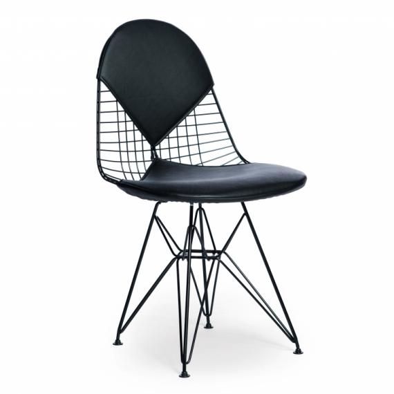Chaise Inspiration Eames DKR-2 Bikini Black Edition
