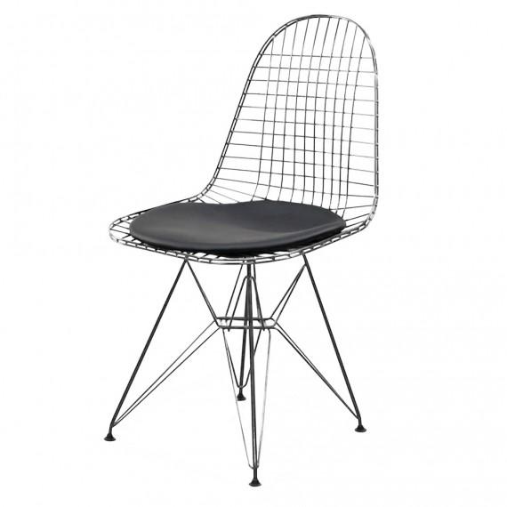 Chaise Inspiration Eames DKR avec coussin