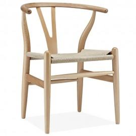 Chaise Wish CH24 faite à la main en bois de Hêtre
