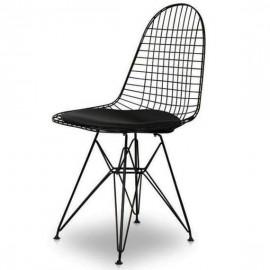 Chaise Inspiration Eames DKR avec coussin.