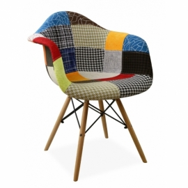"""Chaise Patchwork Xl """"New Edition"""""""