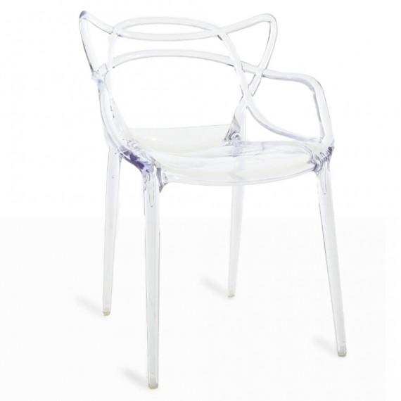 Inspiration chaise Masters transparente du célèbre designer Philippe Starck
