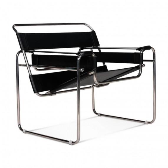 Réplique de la chaise design Wassilly Chair en cuir