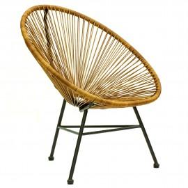 Réplique de chaise design Acapulco pour l'extérieur