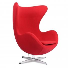 Fauteuil Egg Chair HQ en Cachemire