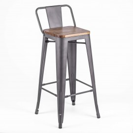 Taburete Bistro LB Wood Antique