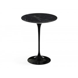 Table d'appoint tulipe en marbre Marquina