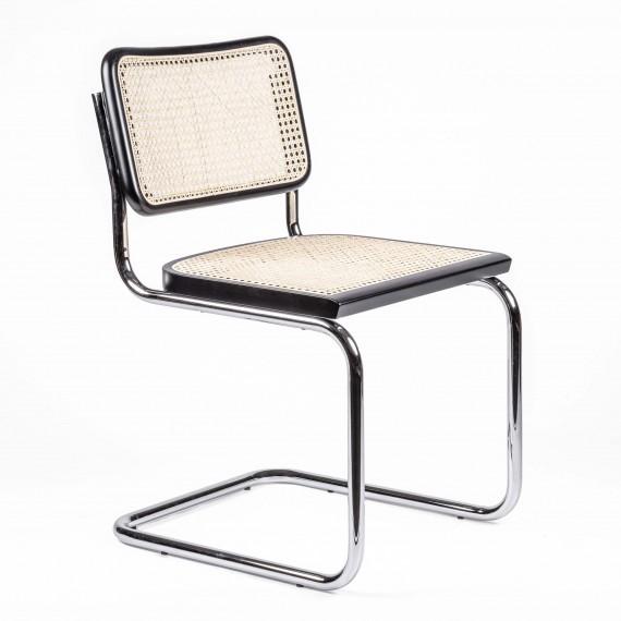 Réplique de la chaise Cesca du designer Marcel Breuer