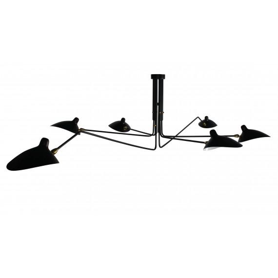 Inspiration de la Lampe Mouille Pendant 6 Arms