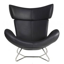 Fauteuil Emola Chair en Cuir Italien