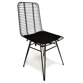 Chaise en métal Yosemite adaptée pour l'extérieur