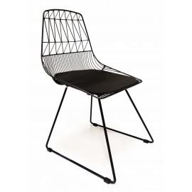 Chaise en métal Summer adaptée pour l'extérieur