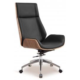 Chaise de bureau Nordic Highback en cuir italien
