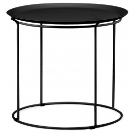 Table bali en acier adapté pour l'extérieurr