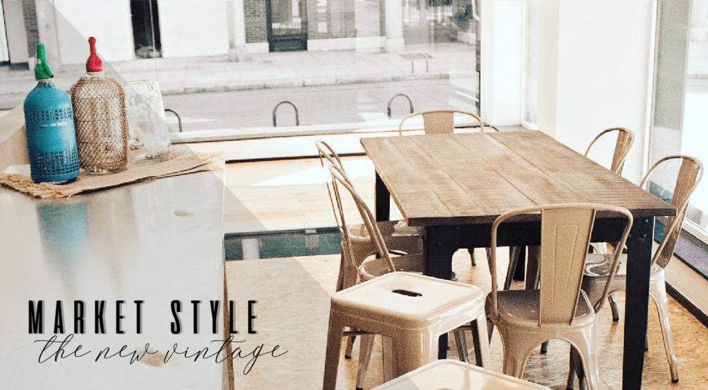 Cuisines et salles à manger market style : le nouveau vintage à la mode