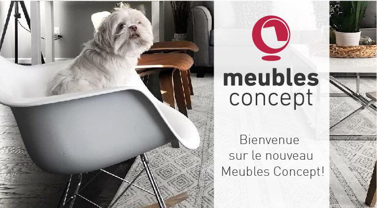Bienvenue sur le nouveau Meubles Concept!