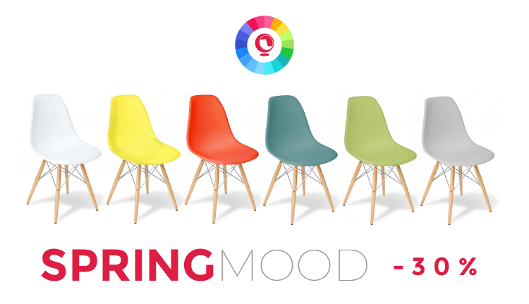 Des meubles design à prix Hot Sale et pleins de couleurs, c'est le bonheur!