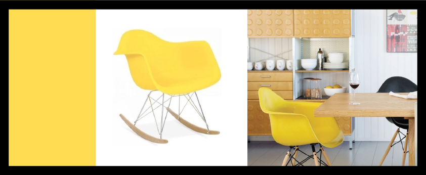 Chaise design Rocking James Inspiré