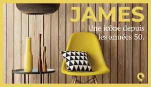 La collection James, iconique depuis les années 50.