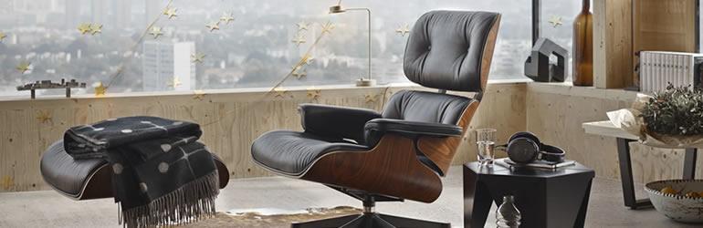 Fauteuil en cuir James Lounge Chair